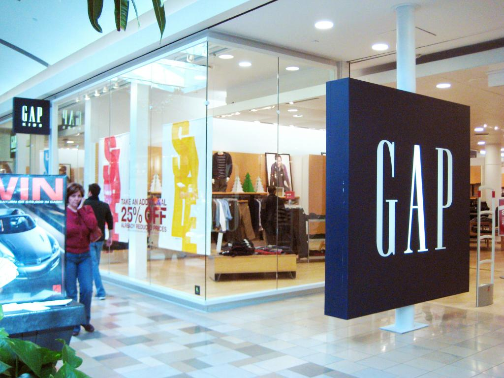 Gap Inc. July Comps. down 4%