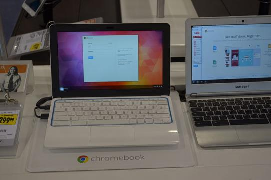 Chromebook Market Share Could Hit 5%