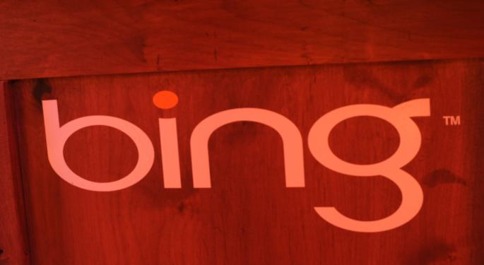 Microsoft Bing Is Growing Market Share MSFT