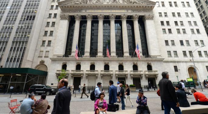 Mid-Morning Market Update: Markets Fall; Conn's Profit Beats Street View