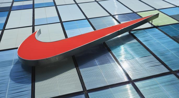 Nike Gains on Earnings Beat