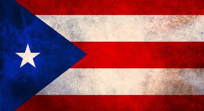 Barron's Recap: Puerto Rico In Trouble