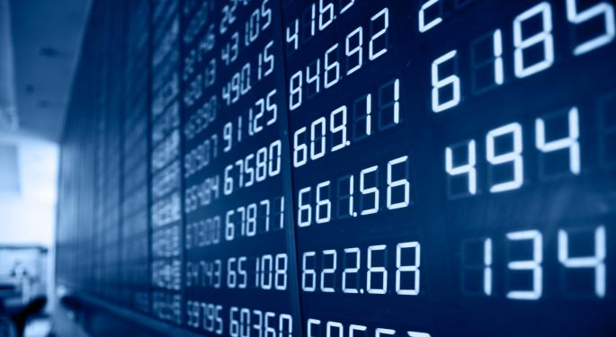 Mid-Morning Market Update: Markets Open Higher; Groupon Issues Weak Outlook