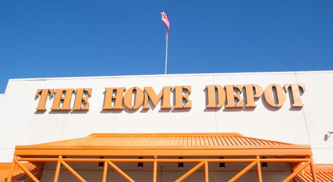 Barron's Recap: Sunny Skies For Home Depot
