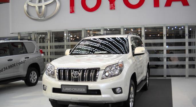 A Bullish Outlook for Toyota
