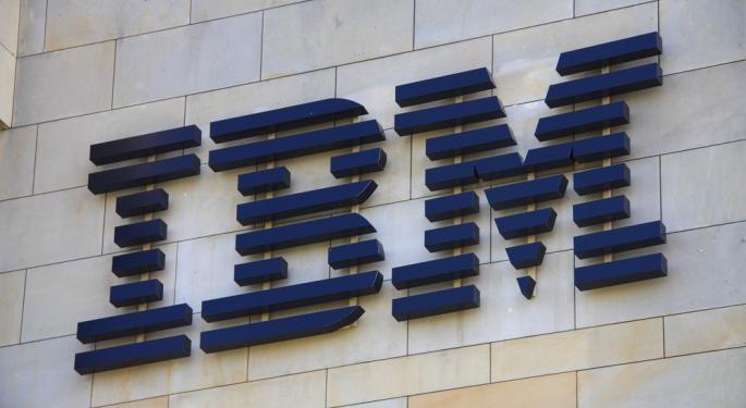 IBM Rises on Q4 Results