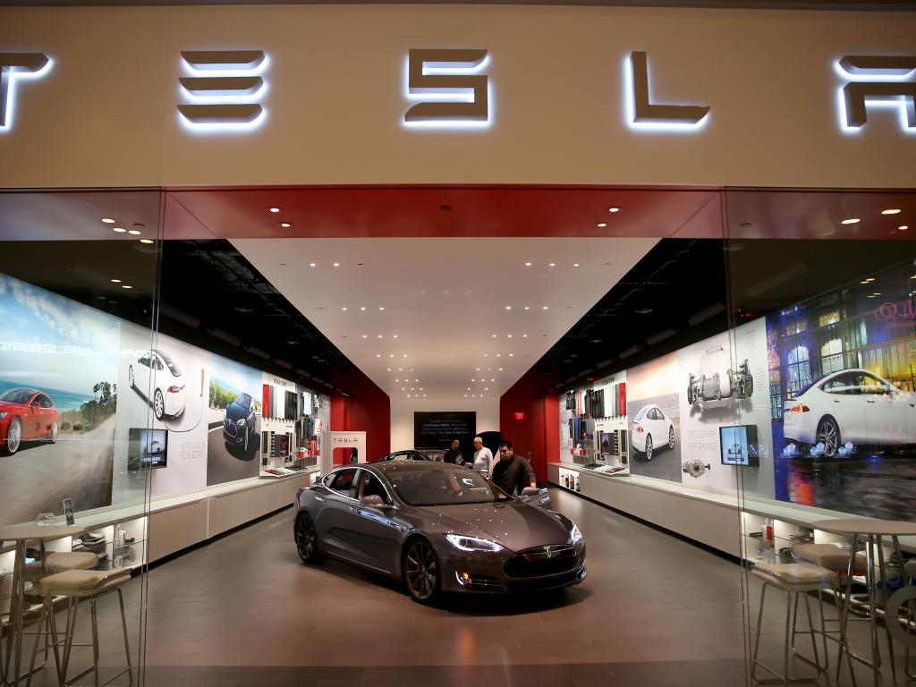 Tesla Stock Is Rising After New Model S 70d Reveal Tesla