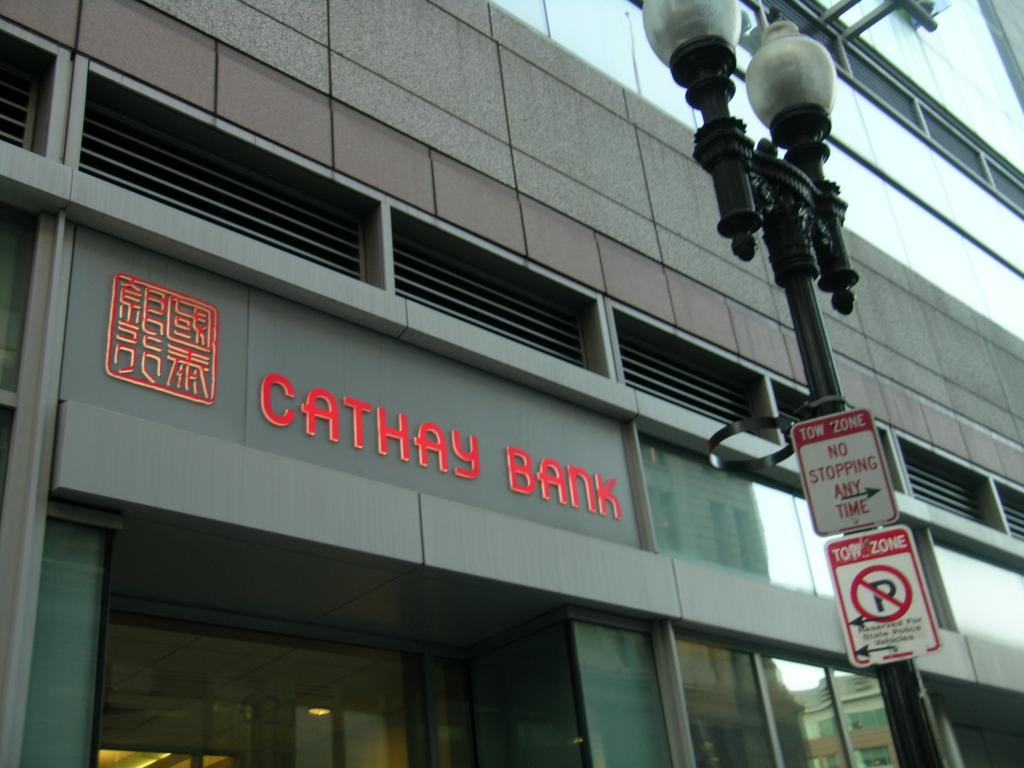 Is Cathay General Banc (NASDAQ:CATY) In Trouble? BMO Capital Issues Downgrade