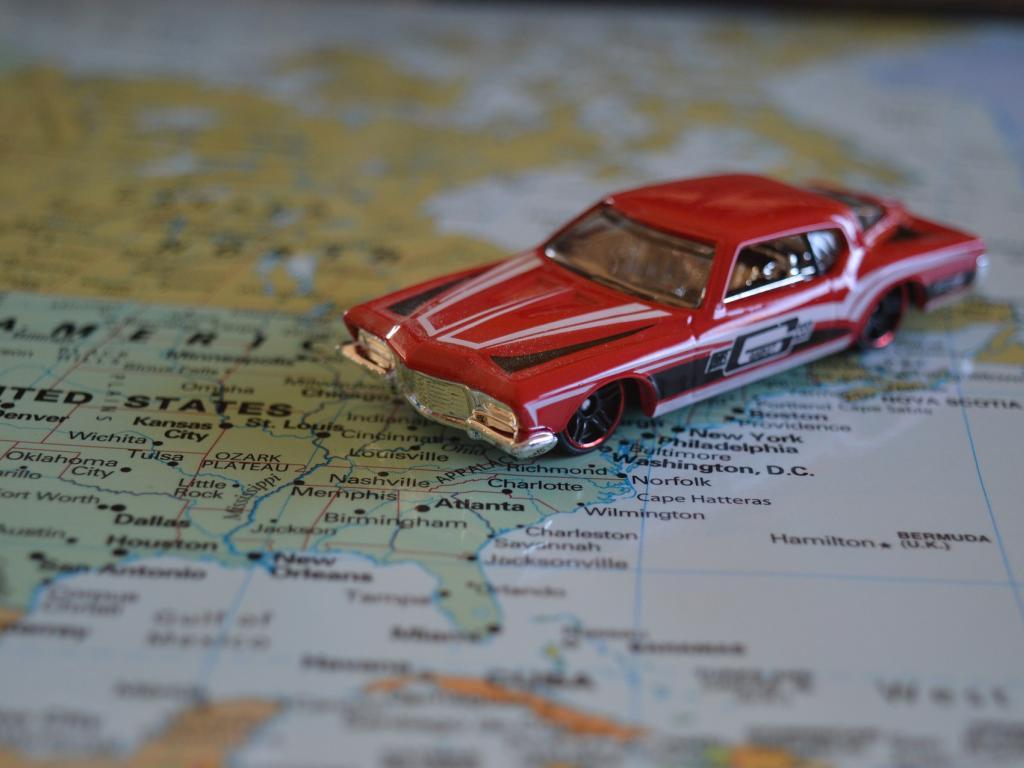 Road Map Of Us And Canada Globalinterco - Us road map wallpaper