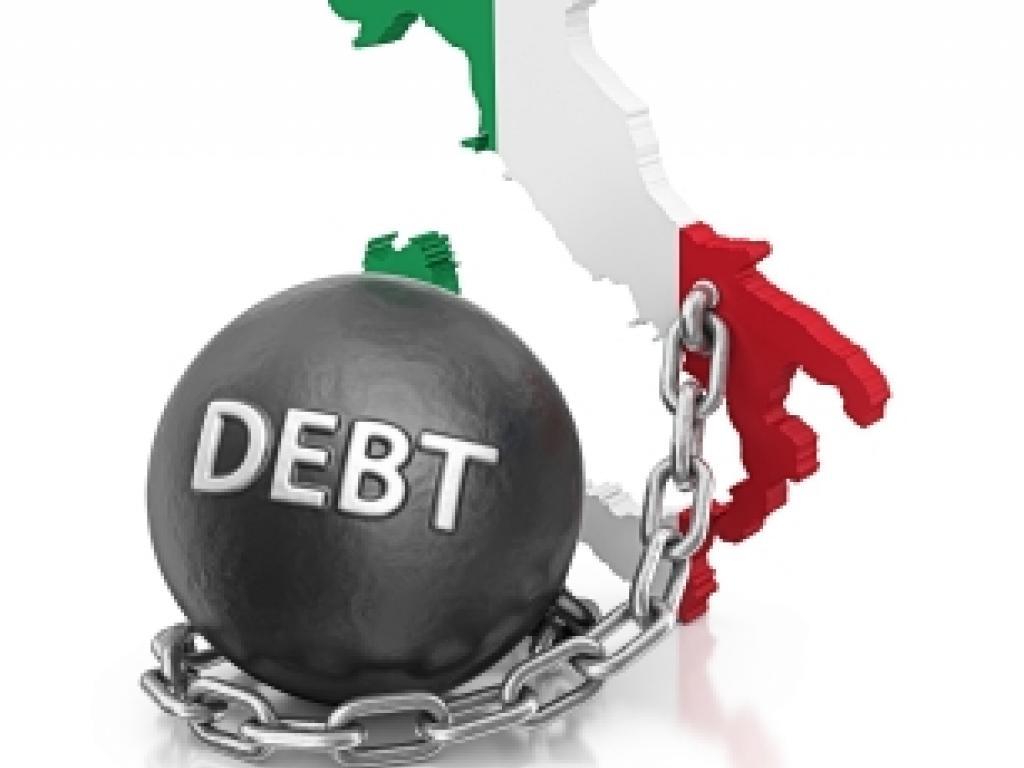 italian government debt rises to record 2 229trln in latest italian government data just out 13 2016