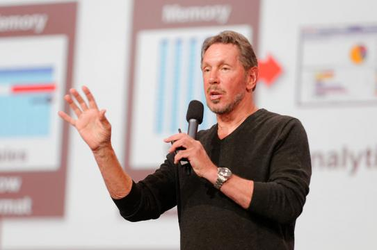 Larry Ellison No Longer Leading Oracle