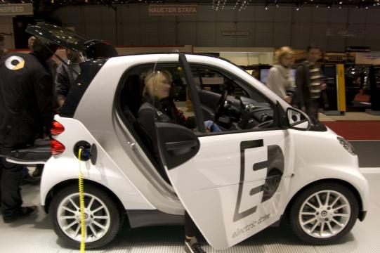 Mercedes Smart Electric