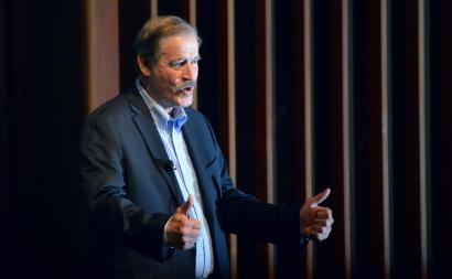 Former Mexican President Vicente Fox. Photo by Dustin Blitchok.