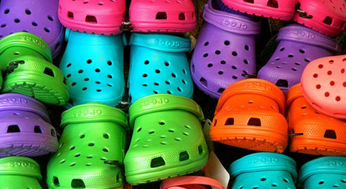 Crocs Soars on Q2 Results