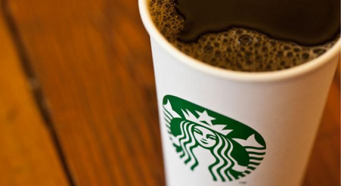 Strength in Apple, Nike, Starbucks Despite Lower Market