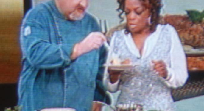 Oprah Donates $250,000 to on behalf of her Chef