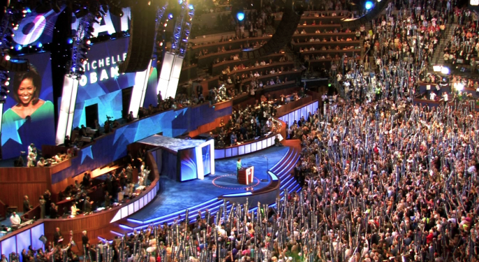 Trading the Democratic National Convention