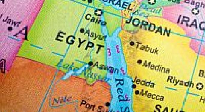 If Chaos In Egypt Spreads, Buy These Stocks