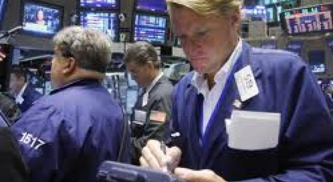 US Stock Futures Up; Hewlett-Packard Shares Drop In Pre-Market Trading