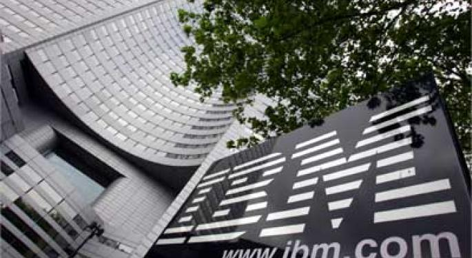 IBM Grows Business with Spending Spree