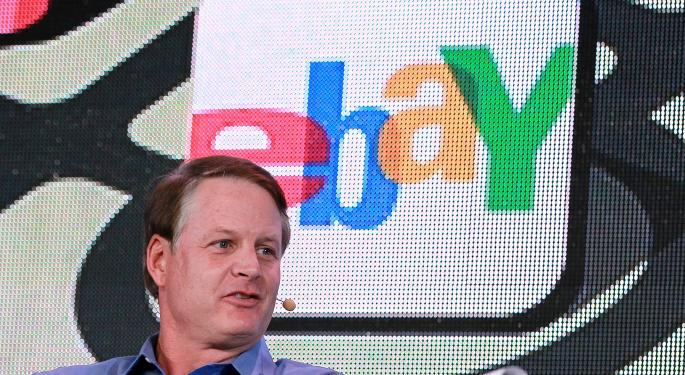 CEO John Donahoe Defends eBay's Fee Increases EBAY