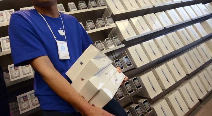 Full-Year iPad Shipments Falling Below Expectations