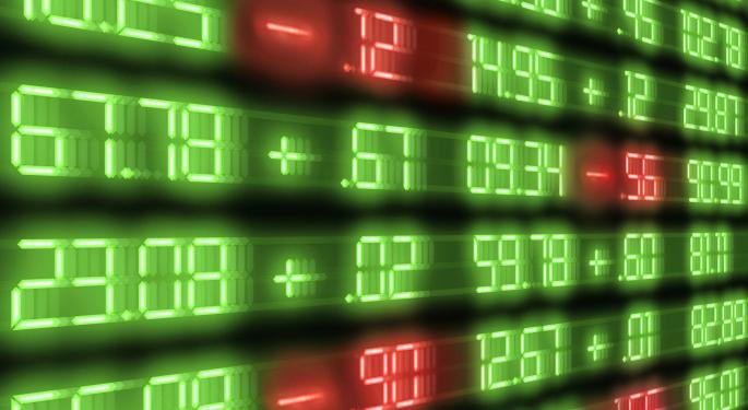 Mid-Day Market Update: Crude Oil Slides Over 1%; American Apparel Shares Jump