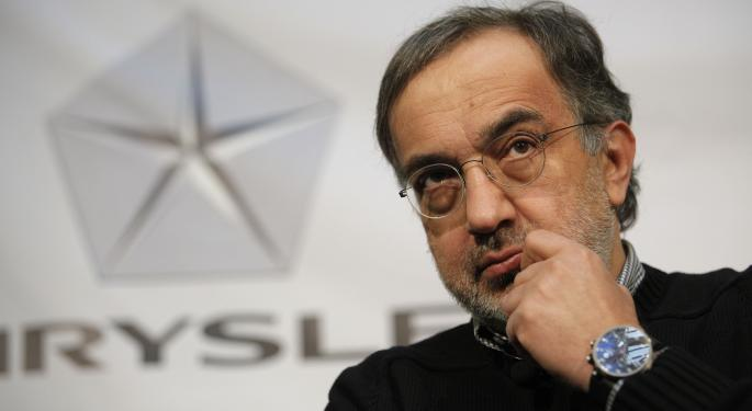 Fiat CEO Sergio Marchionne Denies Discouraging Investors From Upcoming Chrysler IPO