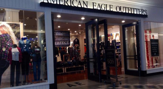 Goldman Says Sell American Eagle, Abercrombie, Express Heading Into Q1 Prints