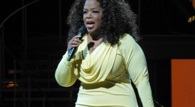 Oprah's Weight Loss Is Weight Watchers Gain