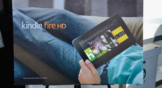 Amazon Reduces Kindle Fire HD Price After Losing Market Share AMZN