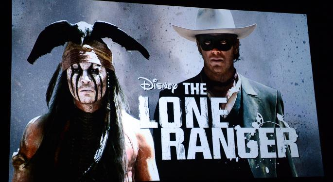 It's Official: 'The Lone Ranger' Was A Flop DIS