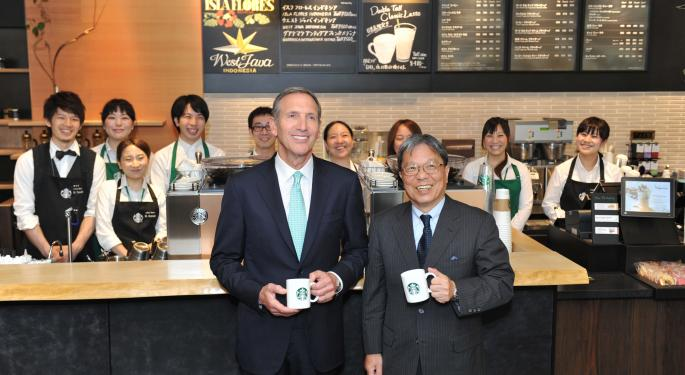 Starbucks CEO Howard Schultz On The Company's Future
