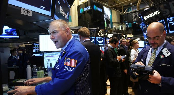 Mid-Day Market Update: SanDisk Surges On Upbeat Results; IBM Shares Tumble