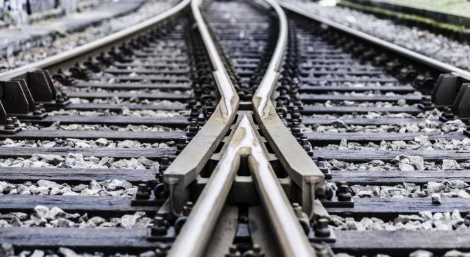 Weakness In Rail Numbers Continues