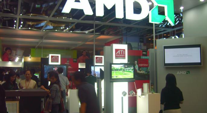 Despite 18% Revenue Growth, AMD Sinking After First-Quarter Sales Miss