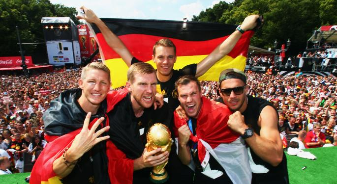 3 German Stocks For Your Portfolio After The World Cup Win
