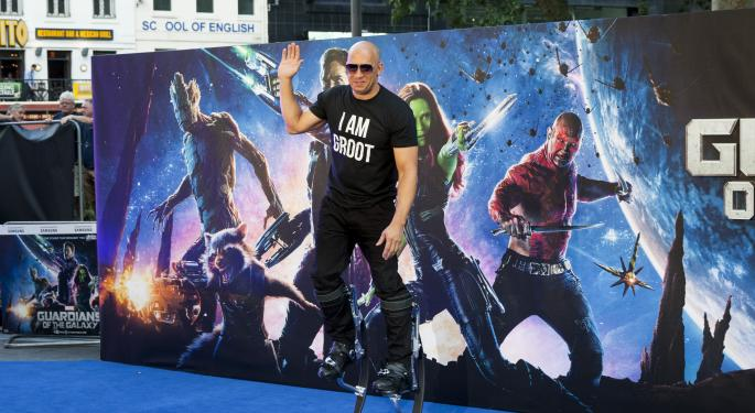Sci-Fi Smash Hit 'Guardians of the Galaxy' Sets Up Sweet Merchandising Curve At Disney