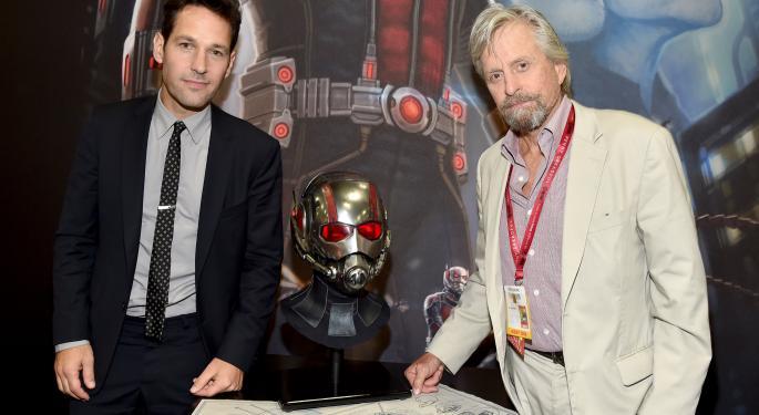 Paul Rudd's 'Ant-Man' Photo Pumps Up Marvel Fans