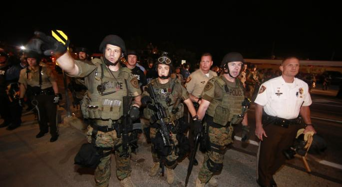 Ferguson Unrest Calls Attention To The State of Police Technology