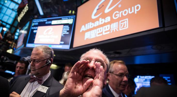 A Wrap Up Of Alibaba Group Holding Ltd's First Day