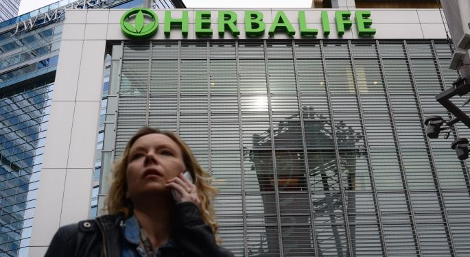 Herbalife Rises Slightly After Q4 Earnings Beat, Increased Guidance