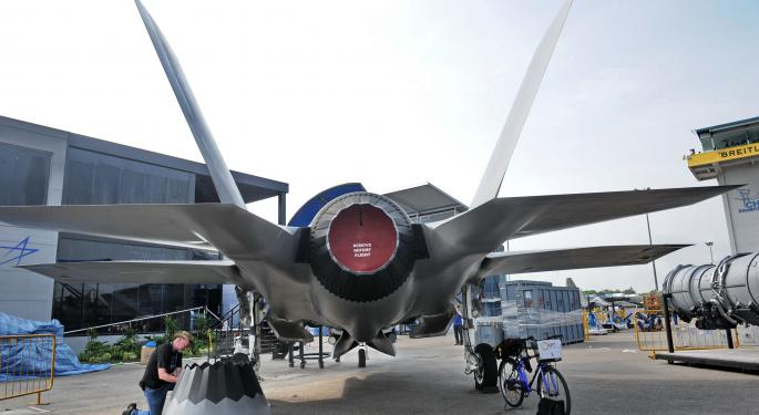 The F-35 Program Continues Its Struggles