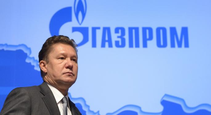 Russia's Gazprom Reportedly Shuts Off Gas Delivery To Ukraine