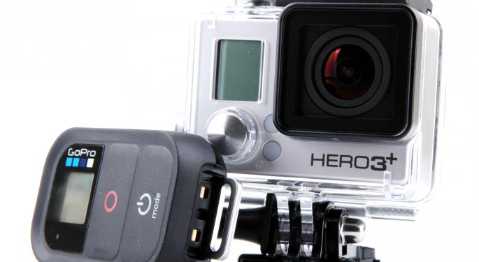 Cleveland Research Sees GoPro's Market Growing At 20-30% Annually
