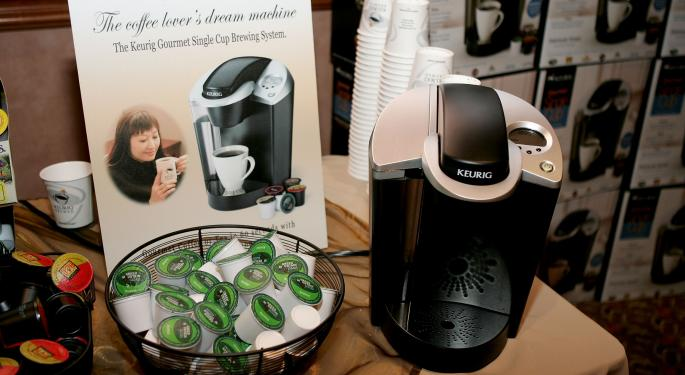 Keurig Green Mountain Surges After Earnings Beat And Announcement