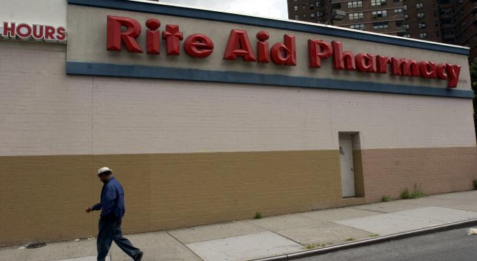 Rite Aid Corporation Rallies On Increased Sales