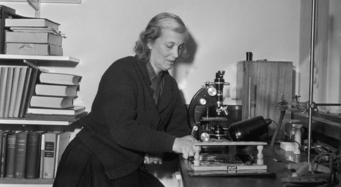 Google Celebrates Dorothy Hodgkin & Her Contributions To Chemistry