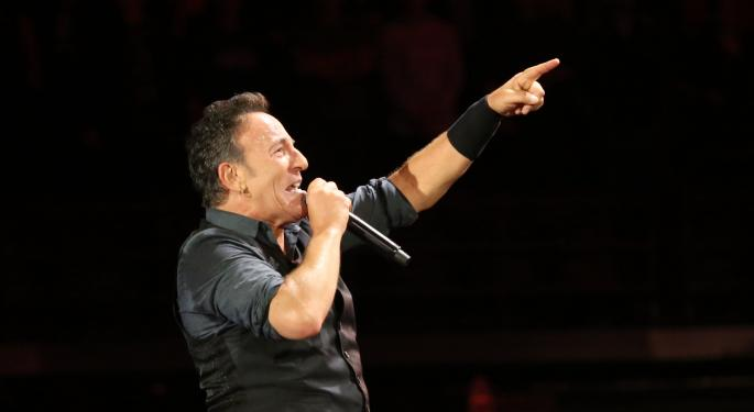 How Wall Street Outraged Bruce Springsteen