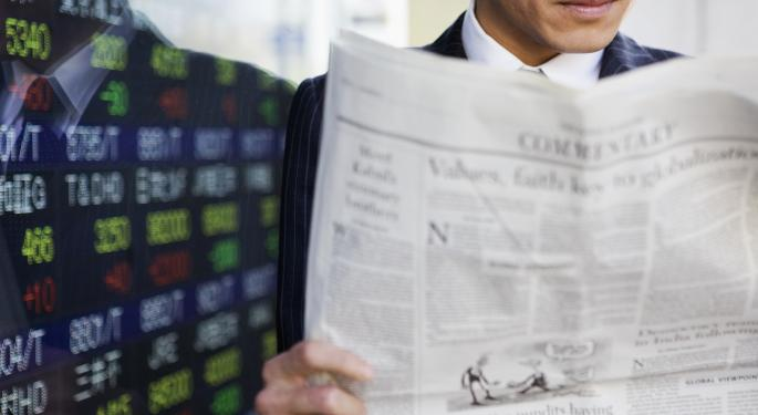 Market Wrap For May 20: Markets Sharply Lower On Fed Talk, Disappointing Earnings